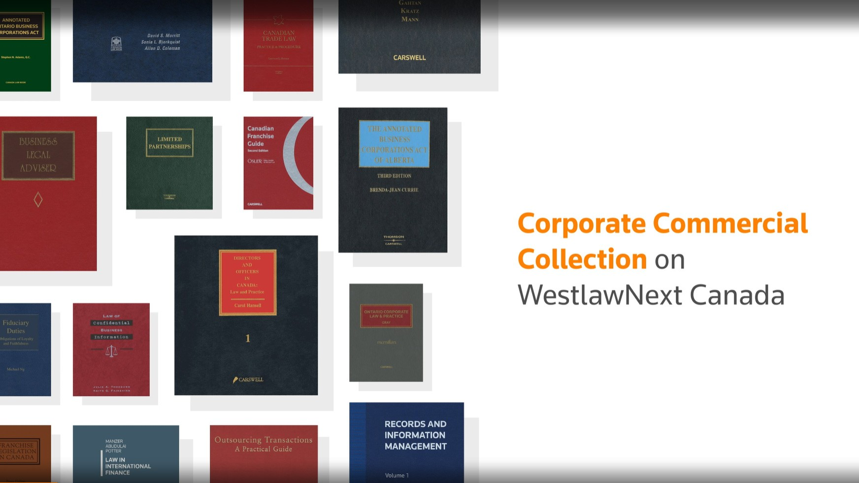 Corporate Commercial Collection | WestlawNext Canada