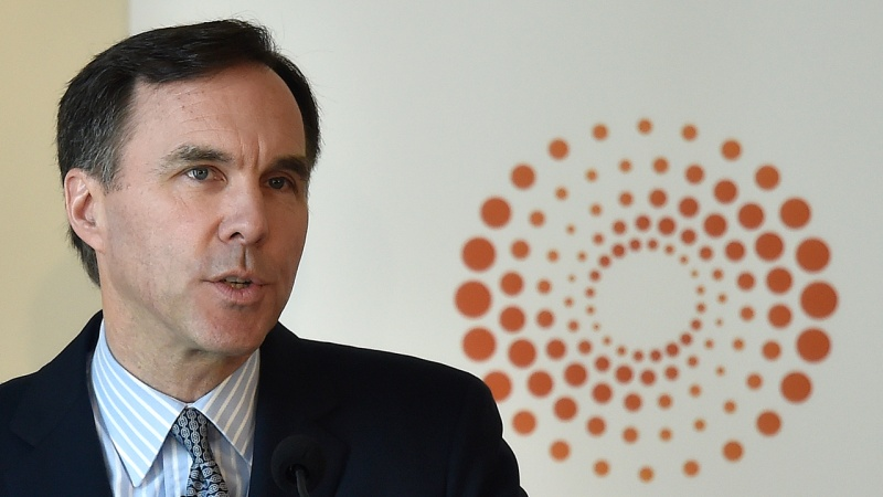 Canada's Finance Minister Bill Morneau