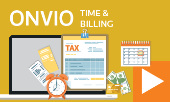 Onvio Time and Billing - Thomson Reuters DT Tax and Accounting