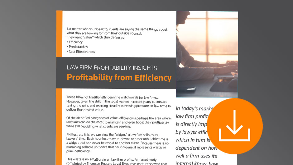White Paper: Law Firm Profitabilty Insights