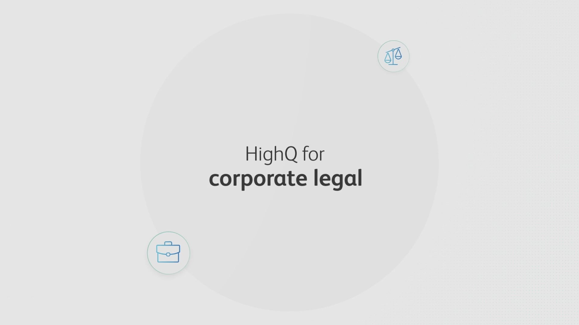 HighQ for corporate legal departments