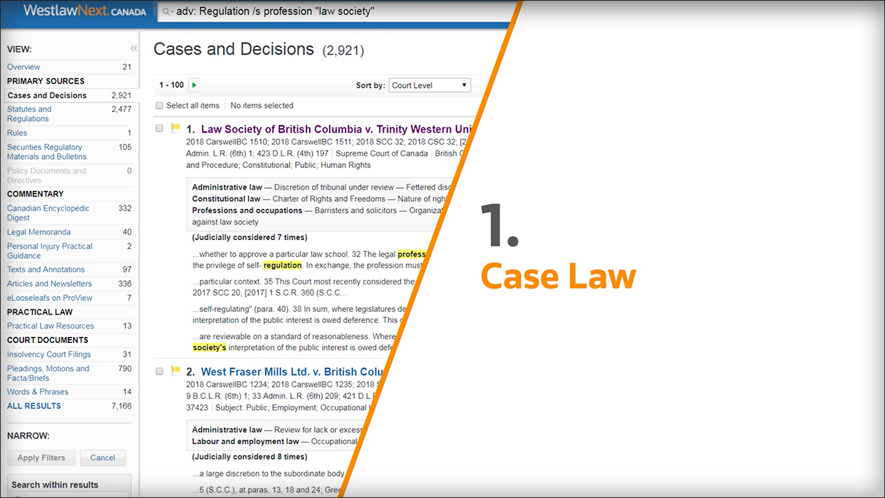 11 Pathways to Research on Westlaw (2:33)