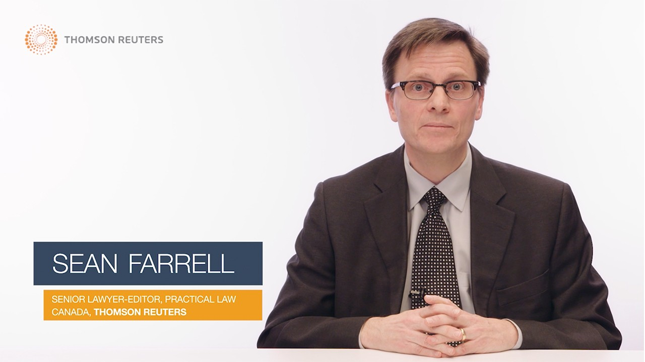 Insights from Sean Farrell, Capital Markets & Securities Senior Lawyer-Editor (5:37)