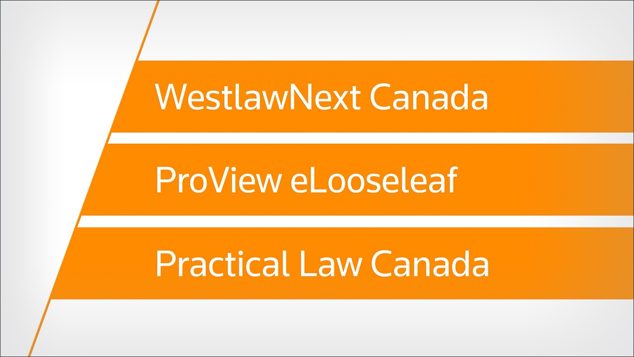 WestlawNext Canada EmploymentSource | Just Cause for Dismissal use case