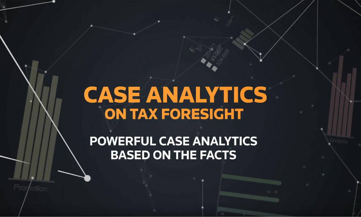 Case Analytics from Tax Foresight (1:35)