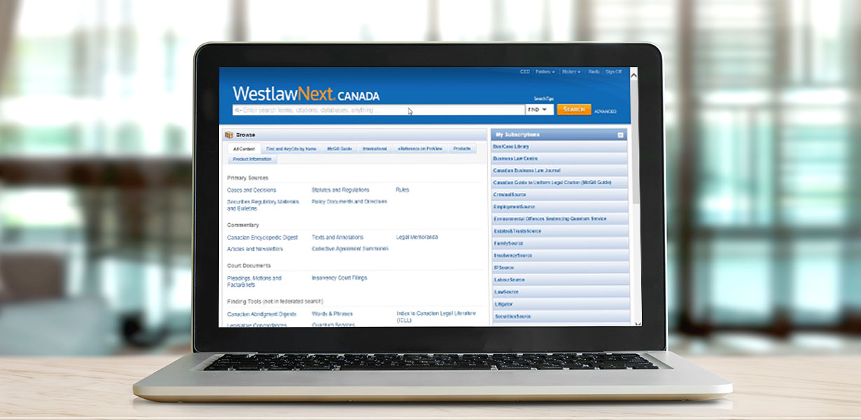 Video: WestlawNext Canada find cases faster (4:14)